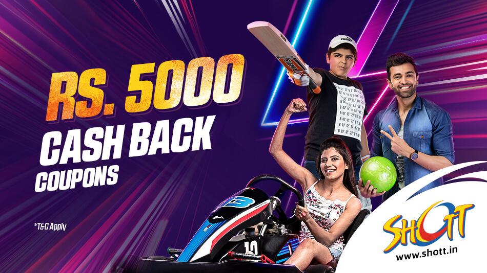 5000 cashback offer