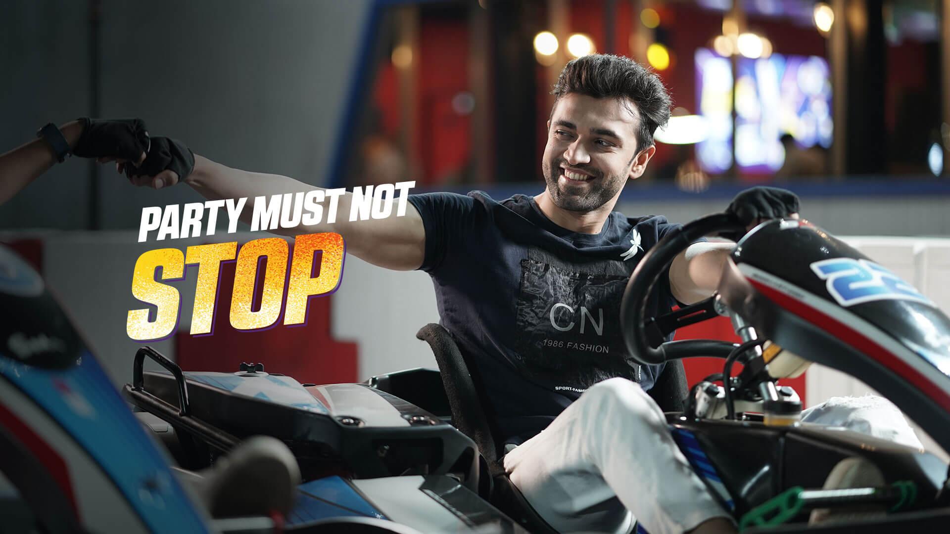 Go Karting Shott